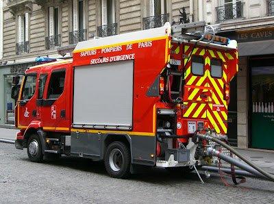 camion pompier de paris