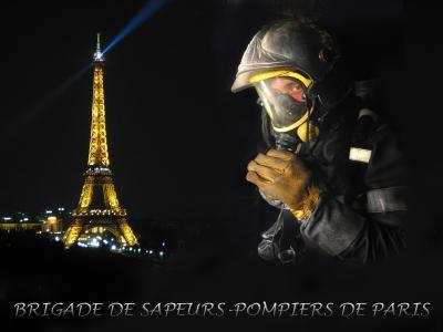 pompier brigade de paris