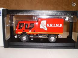 Véhicule des Pompiers du GRIMP