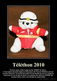 Téléthon 2010 – Ourson en tenue du GRIMP. 15