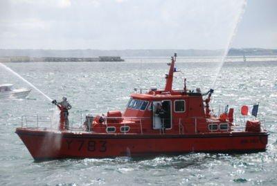 bateaux des pompier marin
