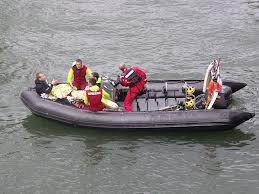 Canot de Sauvetage Léger CSL des pompiers de Paris