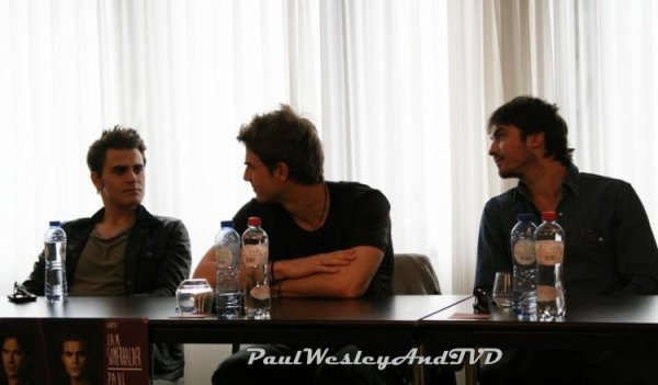 Paul W,Candice A, Nate B & Ian S. | Press Conference in Brussels