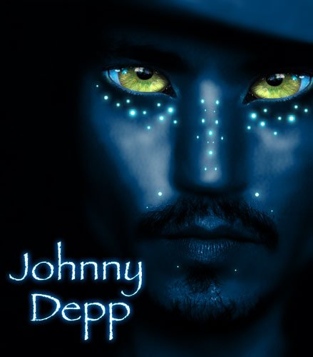 voici johnny depp en avatar !!!