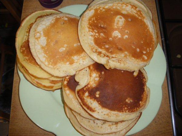 Recette pour pancakes