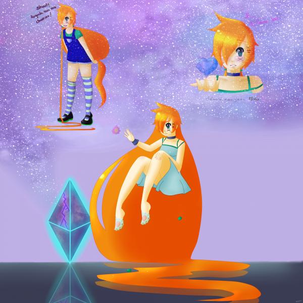 Les perso avec le plus de dessins au compteur: Crystal