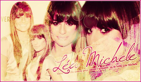 . Bienvenue sur Michelle-Lea, ta source d'actualité sur la pétillante Lea Michele ! .
