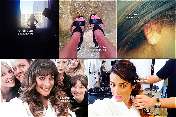 . ______●● ●INSTAGRAM TIME ! @msleamichele● .