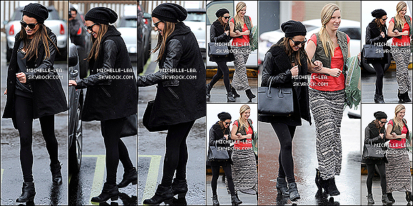 .  06/02/14 : Lea et Heather Morris ont été vu faisant du shopping ensemble à West Hollywood ( L.A ) .