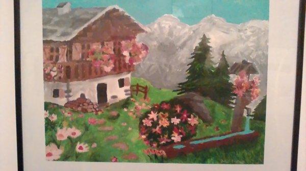 Ma première peinture
