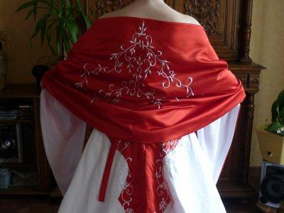 Modification de la robe de mariée