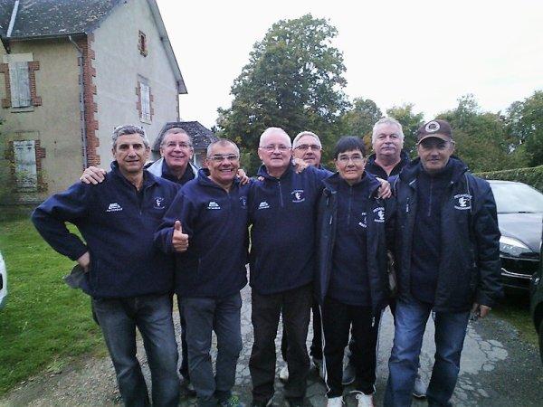 Champions de Saône et Loire à ISSY LEVEQUES