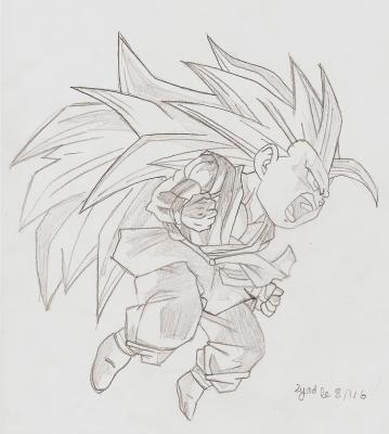 Dessin dragon ball gt mon blog manga - Dessin de dragon ball super ...