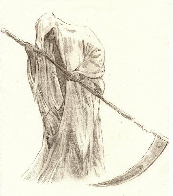 dessin manga mort