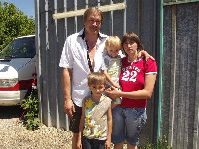 belle photo de famille le 25 juin 2011