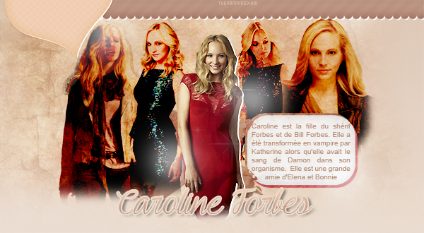 ☼ Caroline Forbes ☼