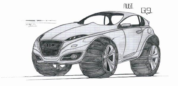 Audi Q9 amelioration