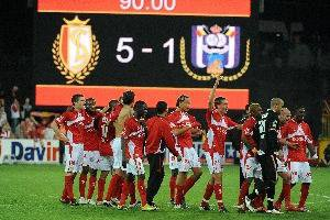 Standard - anderlecht 5-1 BRAVO a nos rouges !!