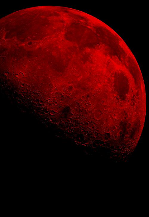 Née sous la lune rouge