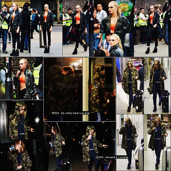 14/04/16 - Cara Delevingne a été aperçue réalisant un shoot pour Rimmel London dans Londres, UK.  J'ai vraiment hâte de voir ce photoshoot, il promet d'être encore à la hauteur ! Espérons avoir ces fameuses photos de Cara D. très bientôt
