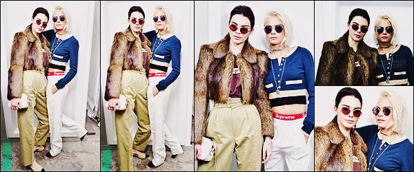 07/03/17 - Cara Delevingne a été aperçue arrivant au défilé Chanel durant la Fashion Week de Paris, FR.  C'était une évidence même de trouver Cara au défilé. Concernant cette tenue, je ne sais pas vraiment quoi en dire ... Qu'en pensez-vous ?