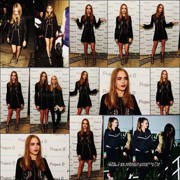 16/12/15 - Cara Delevingne était au concert de charité Wave Makers qui s'est déroulé dans Londres, UK Cara portait une robe noire qui est totalement à son image, elle lui va très bien. J'aime bien les escarpins aussi. Un beau top pour l'actrice