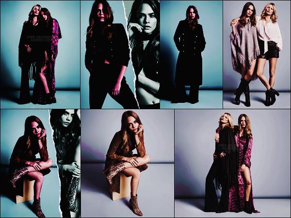 .  Cara Delevingne et Kate Moss pour la nouvelle collection de la marque espagnole Mango  .