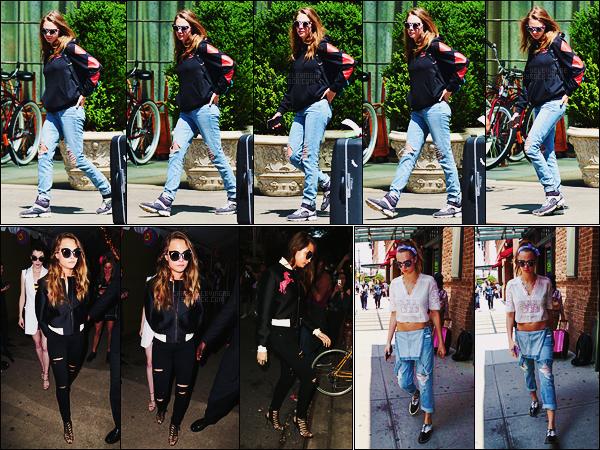 08/06/15 - La belle anglaise Cara Delevingne a été photographiée quittant un hôtel dans New York City. Dans la soirée, Cara était de sortie dans Soho. De plus, le lendemain, elle a encore été aperçue dans les avenues de la grosse pomme !