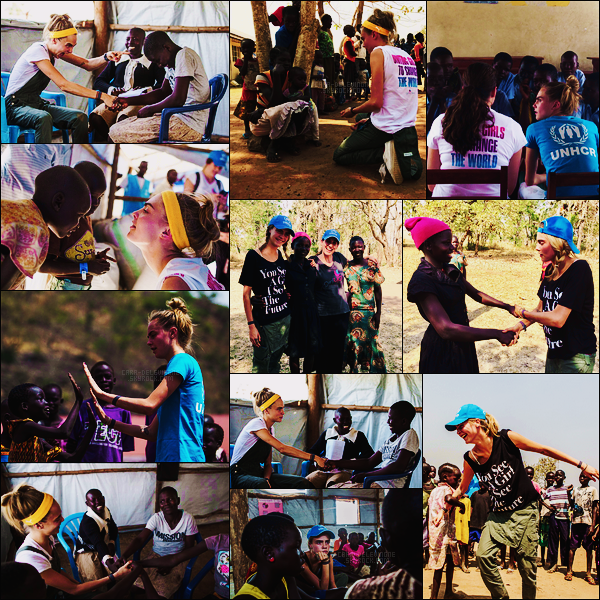 """••  La mannequin et actrice  Cara Delevingne au Ouganda, avec différentes organisations   Loin d'être qu'un visage sur une affiche publicitaire ou un personnage dans un film, Cara Delevingne, douée pour tout et touche à tout, nous donne aujourd'hui comme de nombreuses autres fois, une expérience de vie. Pour débuter la nouvelle année 2017, la jeune femme a posé ses bagages au Ouganda, pays de l'Afrique de l'Est, avec UNHCR, Girl Up, l'U.N. Foundation's adolescent-girl campaign ! Son objectif, aller au contact de jeunes filles réfugiées, écouter leur histoire, les soutenir. .....""""My visit to Uganda was the most incredible experience I've ever had."""" + Retrouvez le récit de Cara ici"""