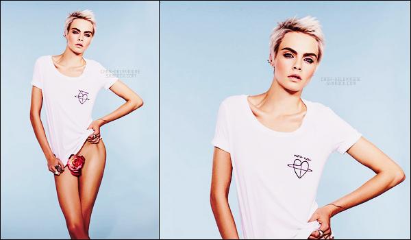 .  Cara Delevingne a réalisé un photoshoot pour le magazine GQ  - UK. Une bombe !  .