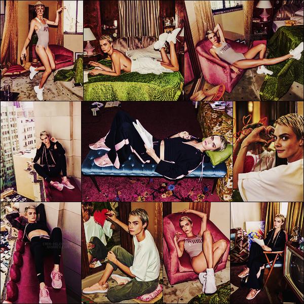 .  Cara Delevingne photographiée pour la nouvelle campagne Do You de la marque Puma !  .