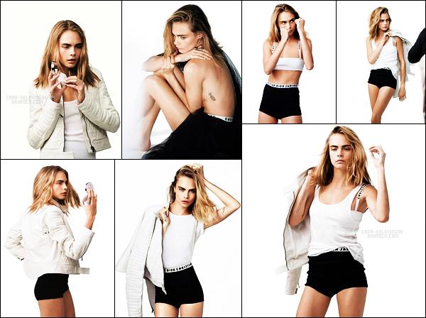 .  Cara Delevingne pour la campagne du produit Capture Dreamskin de la marque Dior  .