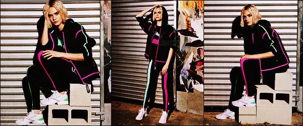 .  Nouvelles photos promotionnelles de Cara Delevingne pour la campagne signée Puma !  .