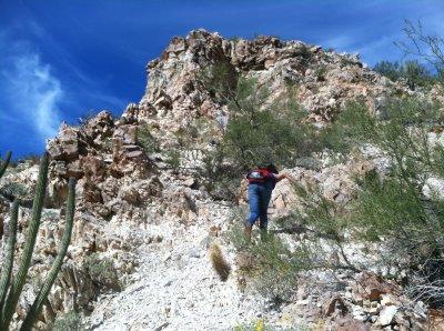 first hike/climb