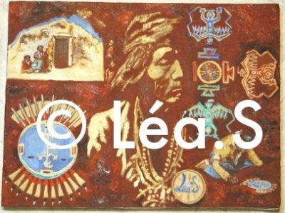 Nesjaja Hatali - huile sur toile, Léa.S