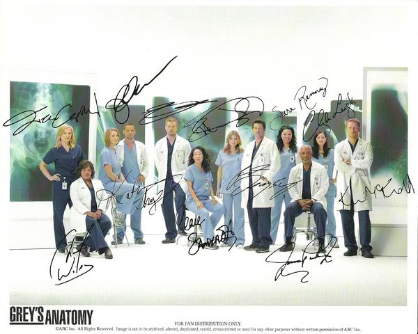 Grey's Anatomy - PP du casting
