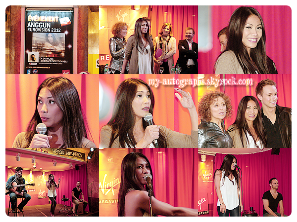 26/04/2012 - Showcase et rencontre avec Anggun