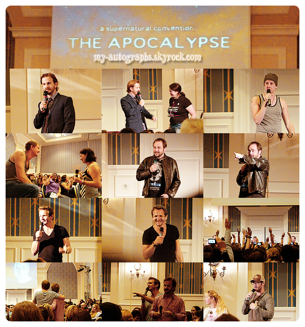 "Convention Supernatural ""The Apocalypse"" - du 01 au 03/06/2012."