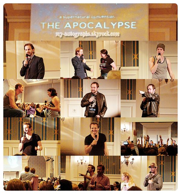 """Convention Supernatural """"The Apocalypse"""" - du 01 au 03/06/2012."""