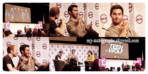 Comic Con 2012 - Teen Wolf, Labyrinth, One Tree Hill