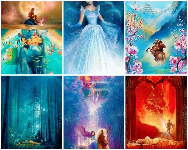 Jeu : Posters Disney