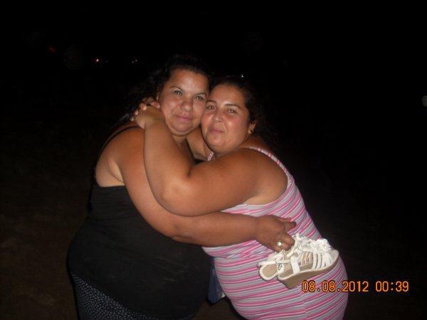 moi et la tante de mon marie