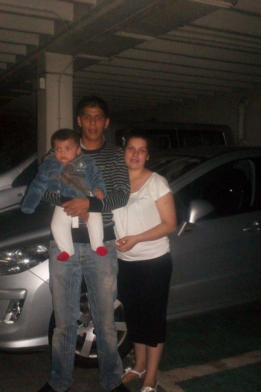 ma belle sr tania et son mari tatis avec son fils