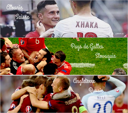 Euro de football 2016: Matches de Poules I