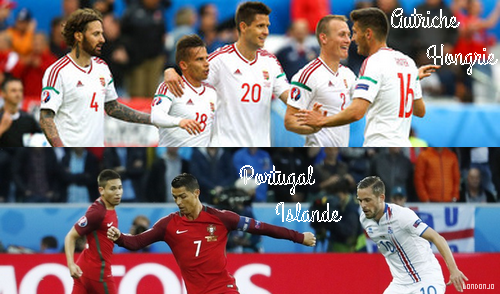 Euro de football 2016: Matches de Poules I