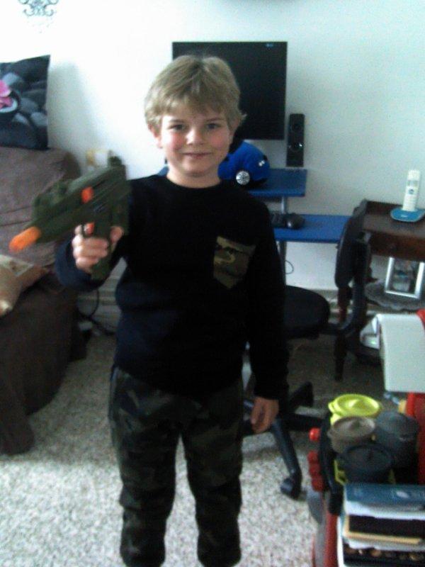 Mon garçon en mode Militaire