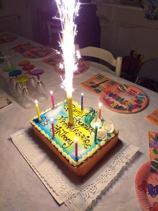 Joyeux anniversaire à Mon garçon pour c'est 8 ans