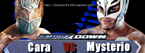 Rey Mysterio VS Sin Cara !!!