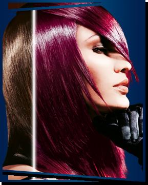 ma future couleur - Coloration Rouge Violine