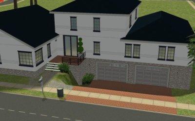 Tutorial garage double en sous sol pour sims 2 blog de for Hauteur garage sous sol